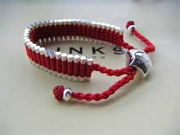 red links bracelet images Trap cut links of london friendship bracelet red bkj270020 jpg