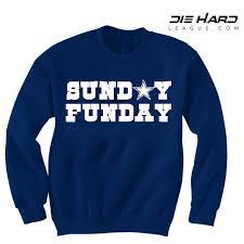 cowboys sweater dallas cowboys sweatshirt sunday funday navy sweatshirt