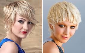 short choppy haircuts blonde hair color medium hair styles ideas