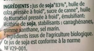 l ithine de soja cuisine soja cuisine bio regain