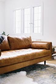Living Room Ideas With Leather Sofa by Find Out What Type Of Sofa Is Trending Around The Web Tan