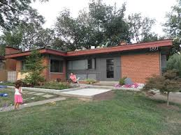 Mid Century Modern Ranch by Midcentury Modern Atomic Ranch Exterior Paint Braxton And Yancey