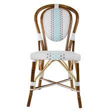 Grey Bistro Chairs White Grey Azzure Mediterranean Bistro Chair Sbc Kitchen