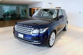 used range rover for sale 2016 land rover range rover supercharged stock 7nc015534b for