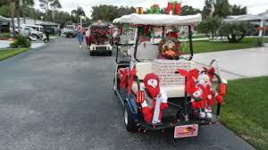 retirement rocks 2011 christmas golf cart parade