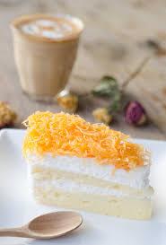 cuisiner les jaunes d oeufs recette foi en gâteau éponge dessert thaïlandais aux jaunes d