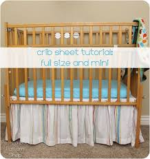 Mini Crib Sheet Tutorial Crib Sheet Tutorial Crib Sheet Tutorial Crib Sheets And Mini Crib