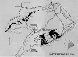 road guide to hawaii volcanoes national park