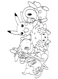 pokemon coloring pages of snivy pokemon coloring pages printable literaturachevere org