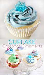 imitation cupcake christmas tree ornaments cupfakes trees
