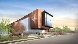 Building Exterior by Northwestern College Nears Goal For Health Natural Science