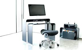 bureau informatique noir bureau ordinateur noir bureau secractaire informatique design noir