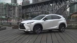 used lexus nx for sale canada 2015 lexus nx 200t f sport exterior and interior youtube