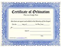 appointment certificate template ministry of the gospel templates free printable certificate of