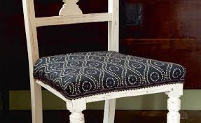 How To Upholster A Dining Chair How To Reupholster A Dining Chair Real Homes