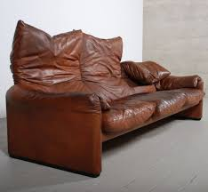 canape cassina gracieux canape design leather maralunga sofa for cassina 1973