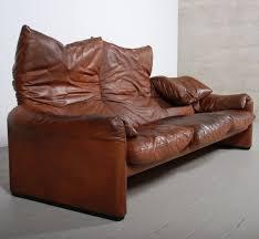 canape cassina gracieux canape design leather maralunga sofa for cassina 1973