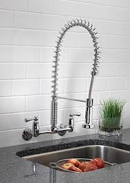 2 kitchen faucet touch on kitchen sink faucets tosca 255 k820 t 2 handle wall mount