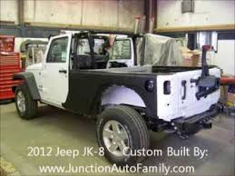 jeep truck conversion jeep jk 8 truck conversion for sale in chardon ohio youtube