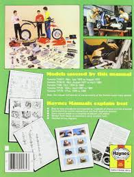 yamaha ty50 ty80 ty125 and ty175 1974 84 owner u0027s workshop manual