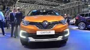 renault europe facelift renault captur debuts at geneva motor show 2017 u2014 carspiritpk