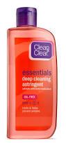clean u0026 clear essentials deep cleaning astringent oil free 8 fl