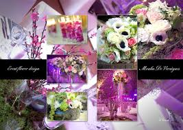 wedding flower decoration création florale