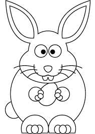 download free easter bunny coloring book