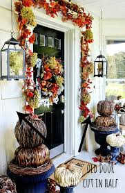 Bud Fall Decorating Ideas For the Front Door Thistlewood Farm