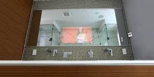 capricious bathroom tv mirror glass frame my tv samples home