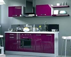 meuble cuisine couleur aubergine meuble cuisine aubergine pour idees