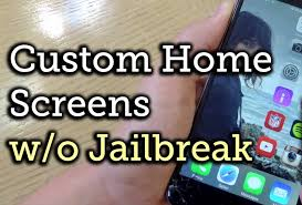 customize home to customize iphone home screen without jailbreak