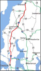 wsdot seattle traffic map wsdot seattle to everett