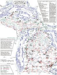 Central Michigan Campus Map by Calendars Maps U2013 Hydrium Studio