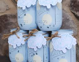 baby boy centerpieces jar centerpieces baby shower centerpieces blue and