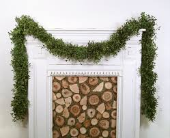 Natural Decorations For Christmas Wreaths by Christmas Garland Garland Boxwood Garland By The Foot