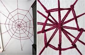 Diy Halloween Wall Decorations Enchanting Spider Webs Applied For Diy Halloween Decor Installed