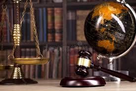 bureau du s at s gavel de juge loi bureau du s de juge illustration stock