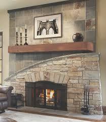fireplace simple curved fireplace mantel decor idea stunning