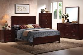 Cheap Nice Bed Frames by Dark Brown Wooden Bed Frame With High Head Board Combined With
