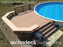 126 best above ground pool decks images on pinterest above