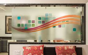 gallery of half wall glass partition popular of glass wall room