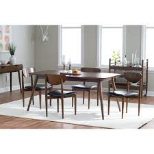 belham living carter mid century modern dining table jet com
