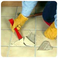 how to fix a bad ceramic tile floor