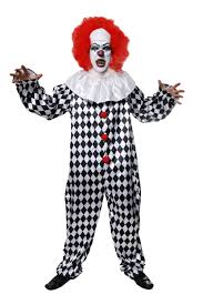 scary clown costume mens halloween costumes mega fancy dress