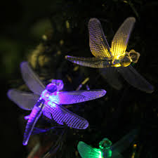 Solar Outdoor Christmas Tree Lights by Dragonfly String Lights Outdoor Minimalist Pixelmari Com