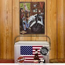 Harley Davidson Flags Harley Davidson Curious Kids Metal Sign Vintage Garage Signs