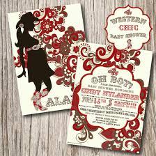 photo cowboy baby shower invitations free image