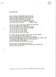 The Blind Will See The Deaf Will Hear Lyrics Marco On The Bass Rare Chrysalis Records Song Lyric Sheets From