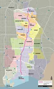 Caltrans Traffic Map Recirculated Environmental Document Released For I 710 Corridor